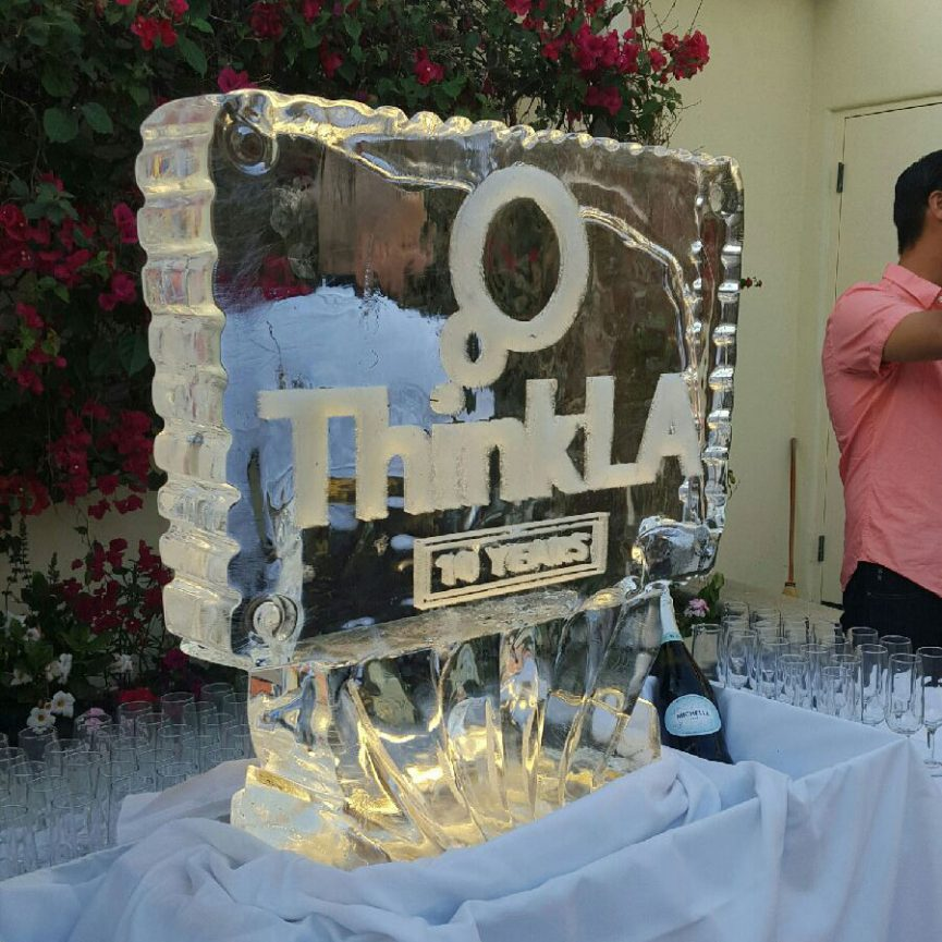 AdSupply - thinkLA - Los Angeles - Media - thinkLA Summer Soiree - thinkLA Ice Luge