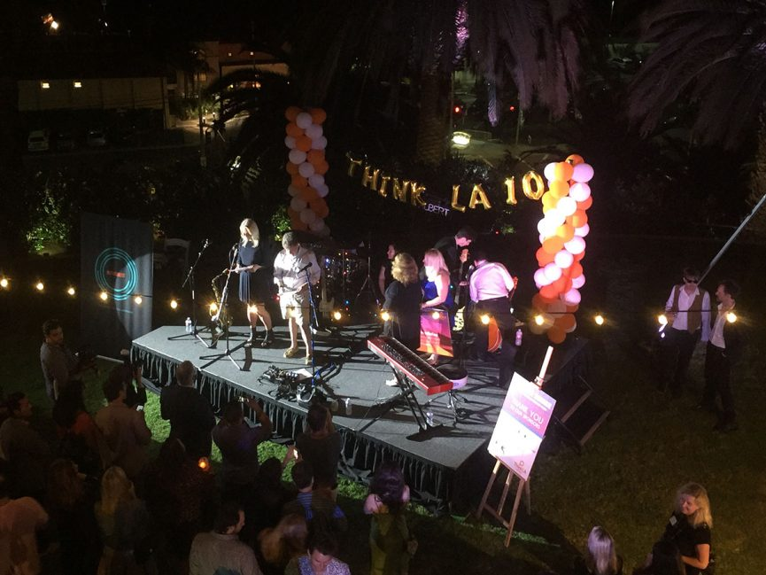 AdSupply - thinkLA - Los Angeles - Media - thinkLA Summer Soiree - Bay Club Stage