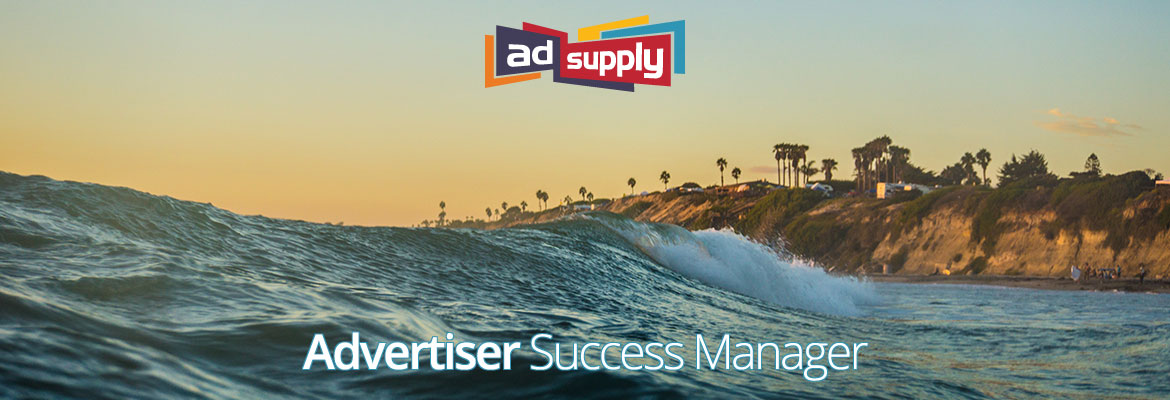 AdSupply - Top Ad Network - Marketing Jobs - Los Angeles - Advertiser Success Manager