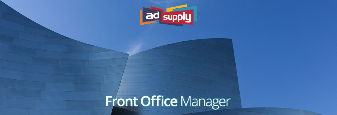 AdSupply - Ad Tech - Jobs - Los Angeles - Front Office Manager